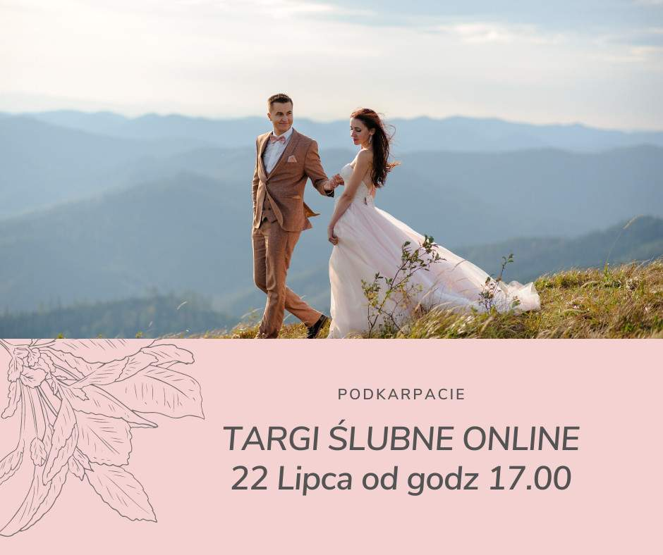 Targi ślubne online – 22 lipca od godz. 17